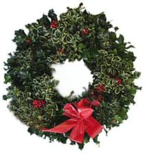 holly christmas wreaths - Christmas Holly Decorations